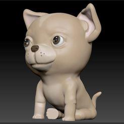 03.jpg Download STL file Sculptember 17 - Pet • 3D print model, tridimagina