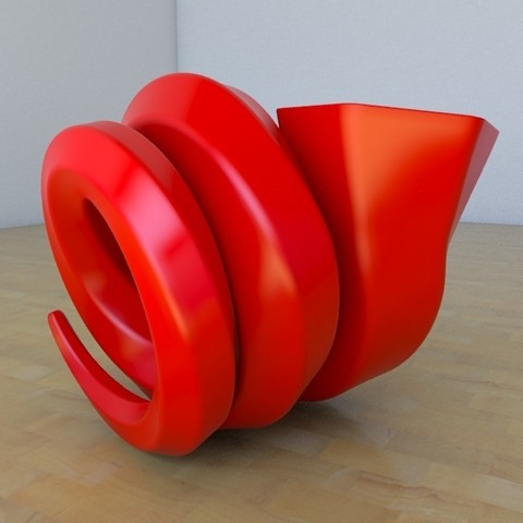 Download free STL file Snail Vase • Template to 3D print, tridimagina