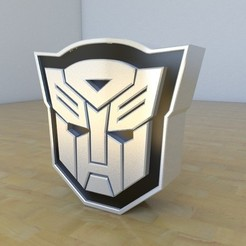 Free 3D printer designs Transformers Autobots, tridimagina