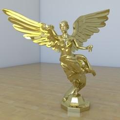 Télécharger plan imprimante 3D Angel de la independencia, tridimagina