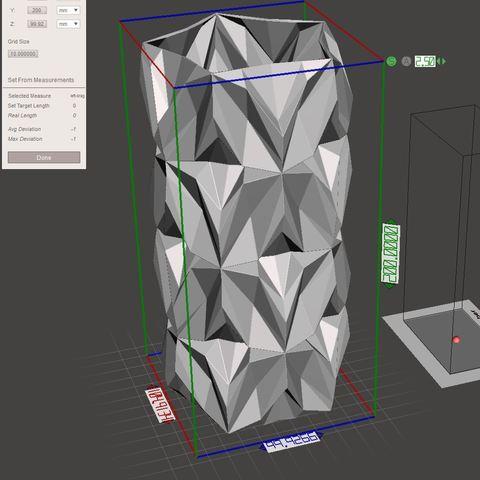15.jpg Download free STL file Geometric Vase • 3D printable object, tridimagina