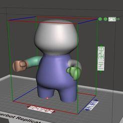 Impresiones 3D Mr.Nobody (skullCandy_serie01), tridimagina