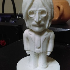 Lennon03.jpg Download STL file Lennon (Beeattles) • 3D printing template, tridimagina