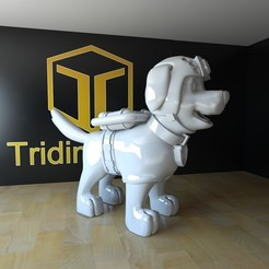 3d printer designs zuma paw patrol, tridimagina