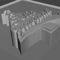 Navidad02.jpg Download STL file merry Christmas • 3D printable template, tridimagina
