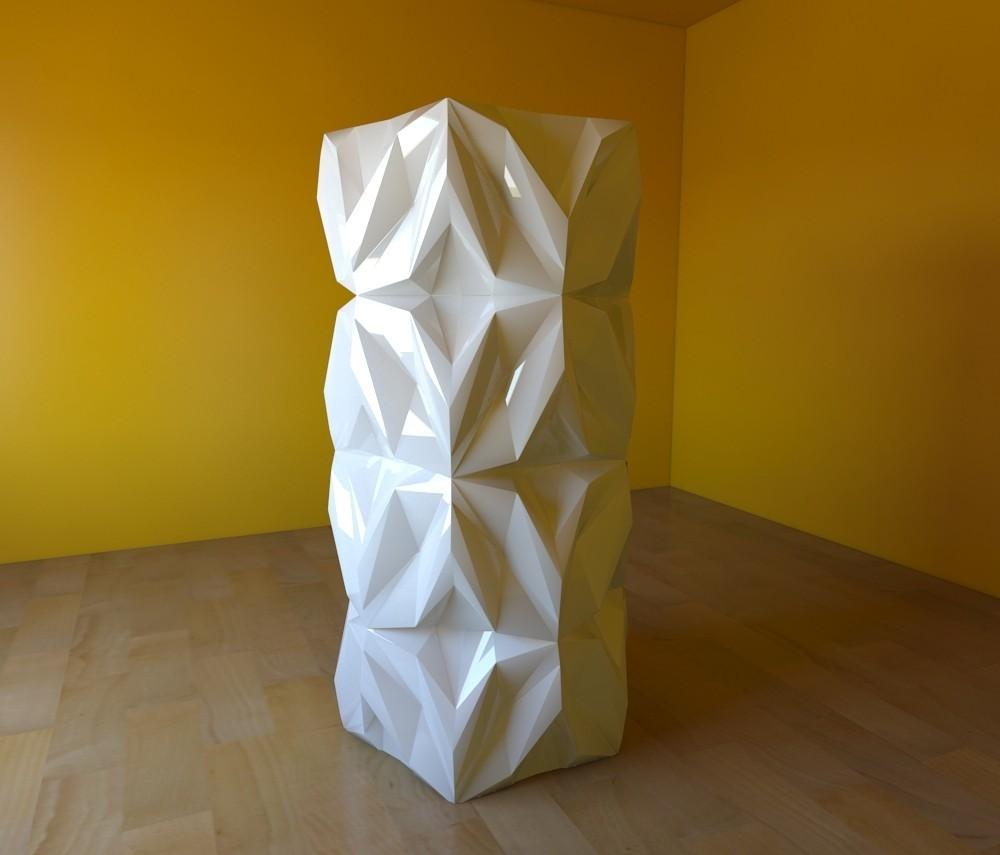 01.jpg Download free STL file Geometric Vase • 3D printable object, tridimagina