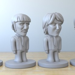 Download 3D printer files the beeattles, tridimagina