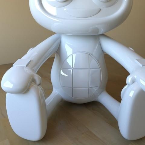 beatboo05.jpg Download STL file BEATBOO • 3D printable design, tridimagina