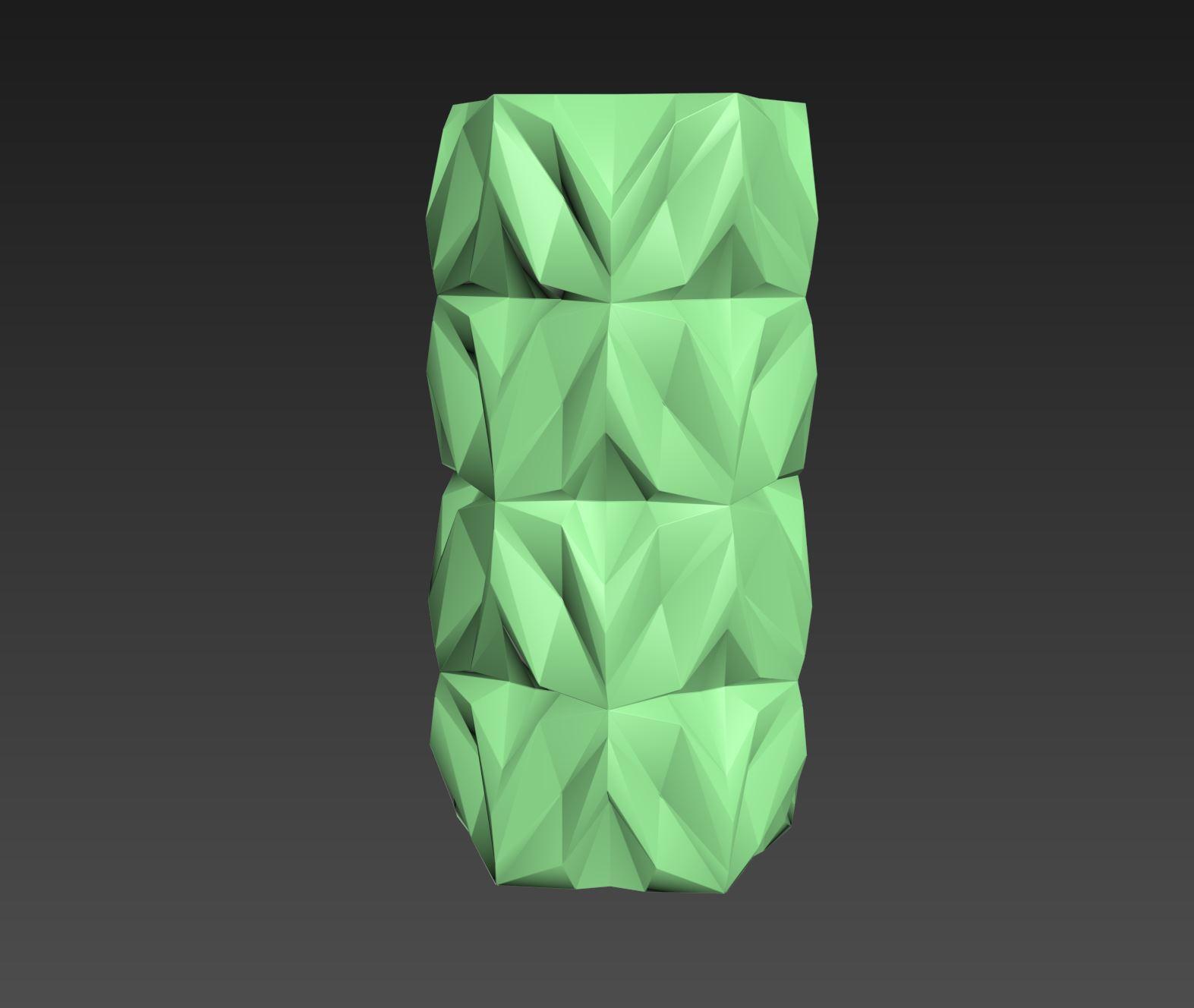 10.jpg Download free STL file Geometric Vase • 3D printable object, tridimagina