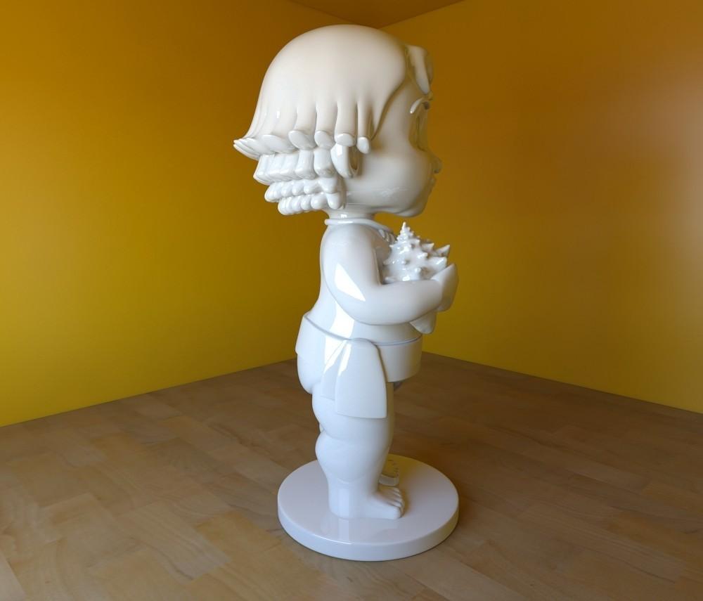 render05.jpg Download STL file hawaii princess • 3D print template, tridimagina