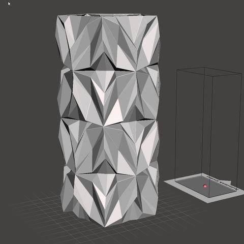 14.jpg Download free STL file Geometric Vase • 3D printable object, tridimagina