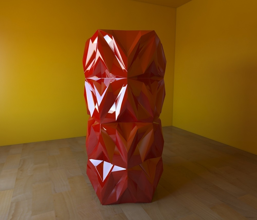 05.jpg Download free STL file Geometric Vase • 3D printable object, tridimagina