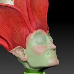 FLOWER00.jpg Download STL file Sculptember 04 - flower • Template to 3D print, tridimagina