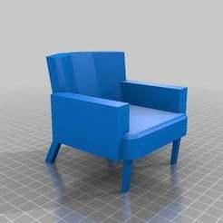 Descargar modelos 3D gratis MiniSofa, MiniFabrikam