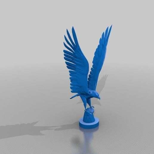 Download free STL file Eagle • 3D printable object, MiniFabrikam