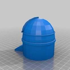Download free 3D model Palomar Observatory, MiniFabrikam