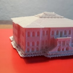 Download free STL file Sivas Congress Building • 3D printing template, MiniFabrikam