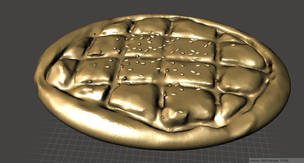 RamadanBread.png Download free STL file Ramadan Bread • 3D printing model, MiniFabrikam