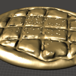 RamadanBread.png Download free STL file Ramadan Bread • 3D printing model, MiniFabrikam