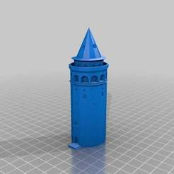 Download free 3D print files GalataTower-Istanbul, MiniFabrikam