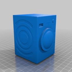 Download free 3D printer files Laundry Machine, MiniFabrikam