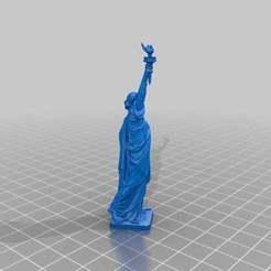 Download free 3DS file Statue of Liberty • 3D printable object, MiniFabrikam