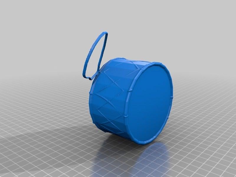RamadanDrum.png Download free STL file Ramadan Drum • 3D printing template, MiniFabrikam