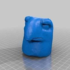 Télécharger modèle 3D gratuit Mont Nimrod GodHead, MiniFabrikam