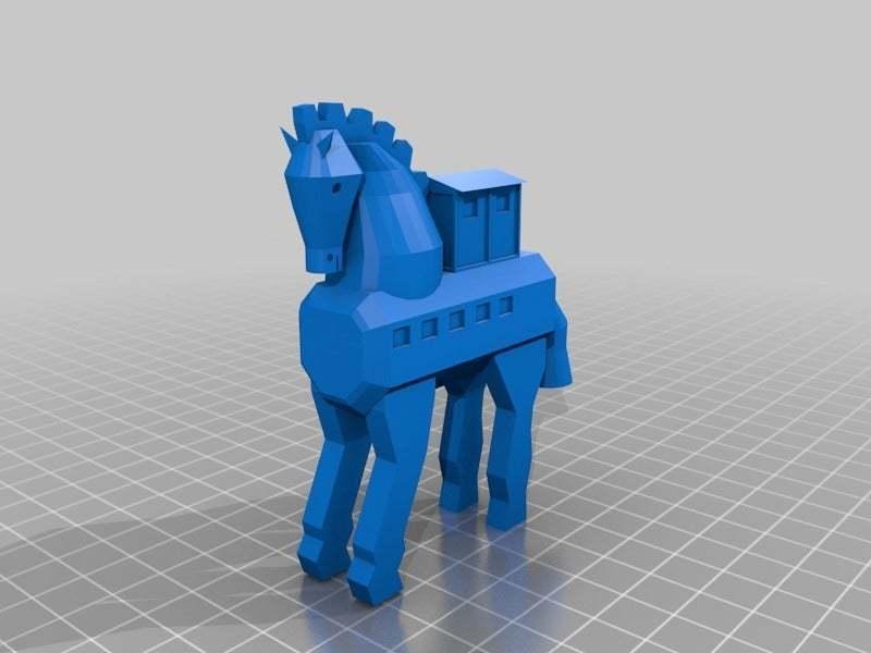 troy.jpg Télécharger fichier STL gratuit Cheval de Troie • Objet à imprimer en 3D, MiniFabrikam