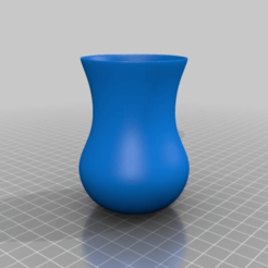 Download free 3D printer designs Turkish Tea Cup (glass), MiniFabrikam