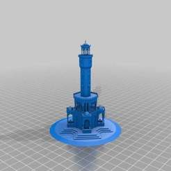 Download free STL file Clock Tower_Izmir, MiniFabrikam