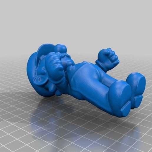 Download free STL file Mario • Model to 3D print, MiniFabrikam