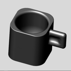 General View.PNG Download STL file Espresso cup • 3D printing template, MiniFabrikam