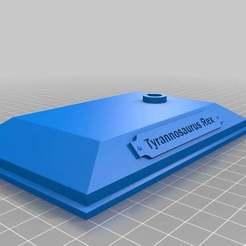 Télécharger fichier impression 3D gratuit T-Rex pour Minecraft, MiniFabrikam