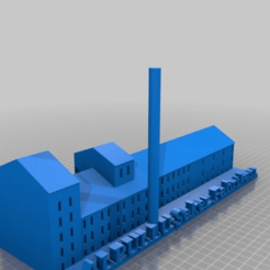 Download free 3D printer templates Alpullu Sugar Factory, MiniFabrikam