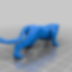 Download free STL file Leopard • 3D printer template, MiniFabrikam