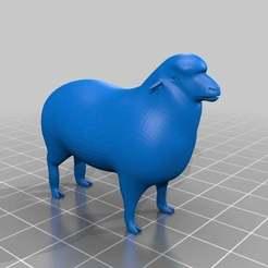 Télécharger objet 3D gratuit Moutons, MiniFabrikam