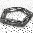 Impresiones 3D gratis Pulsera entrelazada, sucmuc