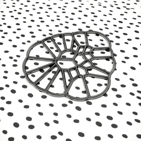 Download free STL file Daisy Pendant • 3D printing template, sucmuc