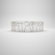 Download free STL file Voro Bracelet • 3D printer object, sucmuc