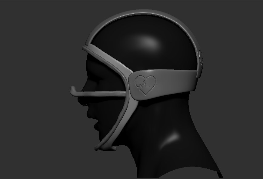 03.jpg Télécharger fichier STL gratuit Verre à masque de quarantaine • Design pour imprimante 3D, PaburoVIII