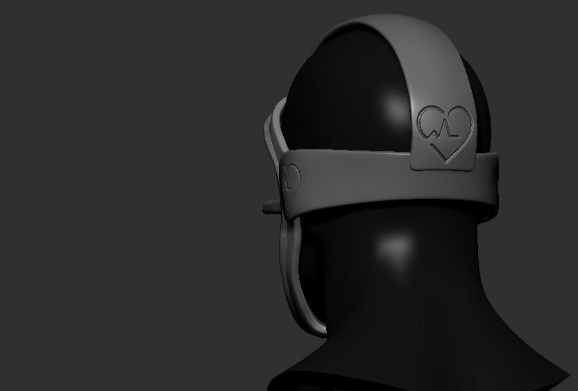 04.jpg Télécharger fichier STL gratuit Verre à masque de quarantaine • Design pour imprimante 3D, PaburoVIII