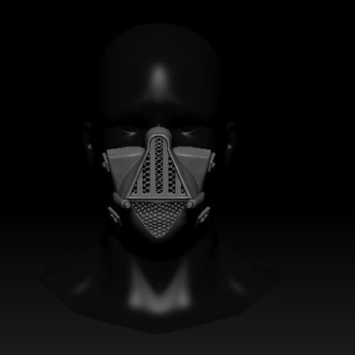 Télécharger fichier 3D gratuit Masque de quarantaine Dark Vader, PaburoVIII
