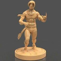 untitled.235.jpg Download STL file Vega Sculpture from Street Fighter • 3D printing model, PaburoVIII