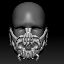 Screenshot_1.jpg Download OBJ file Quarantine Bane Mask • 3D printing model, PaburoVIII