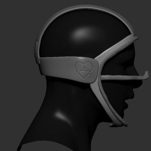 07.jpg Télécharger fichier STL gratuit Verre à masque de quarantaine • Design pour imprimante 3D, PaburoVIII