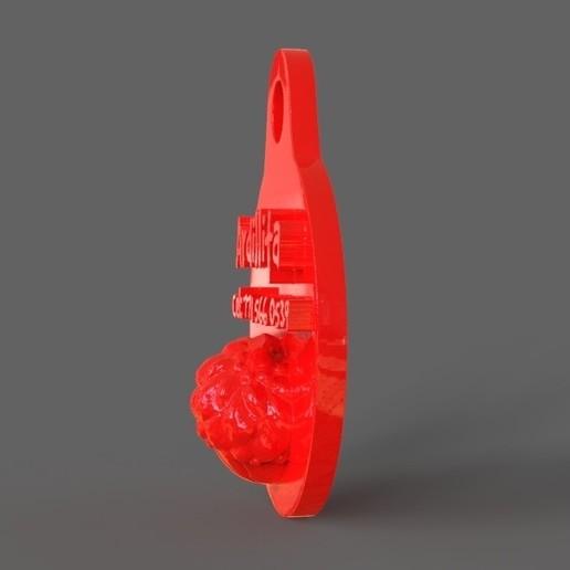 untitled.14.jpg Download STL file Pet Tag and Pet Jewelry Combo • Object to 3D print, PaburoVIII