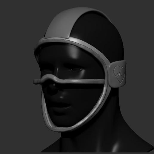 02.jpg Télécharger fichier STL gratuit Verre à masque de quarantaine • Design pour imprimante 3D, PaburoVIII