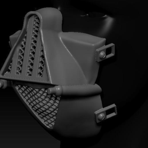 Download Free STL Files Quarantine Mask Darth Vader ・ Cults