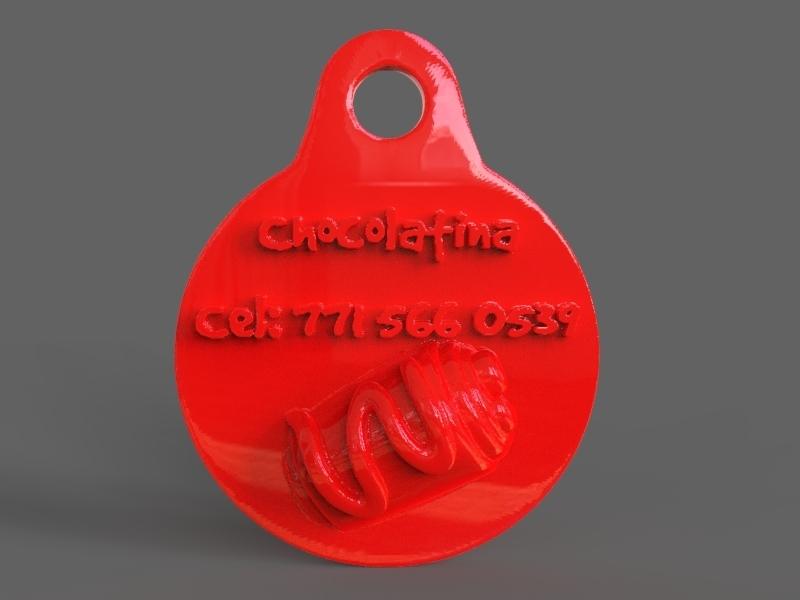 untitled.30.jpg Download STL file Pet Tag and Pet Jewelry Combo • Object to 3D print, PaburoVIII